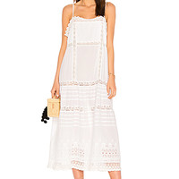 Free People This Is It Slip Dress in Ivory   REVOLVE