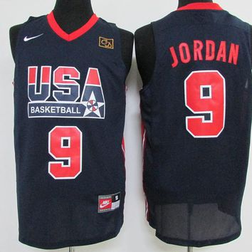 992f4bd53b2a Best Deal Online Nike Basketball Jersey USA dream team 1992 Barcelona  Olympic Games   9 Michael