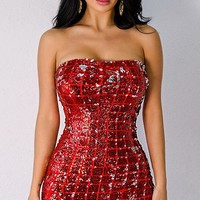 Corrie Sequin Dress