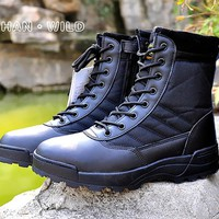 Tactical Boots Military Desert  American Combat Boots Outdoor Shoes Breathable Wearable Boots Hiking desert boots