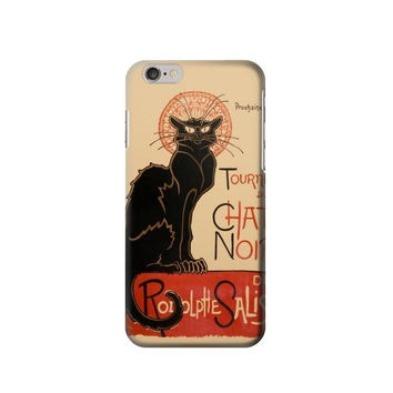 P2739 Chat Noir The Black Cat Phone Case For IPHONE 6S