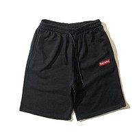 Supreme men's trendy casual sports shorts F