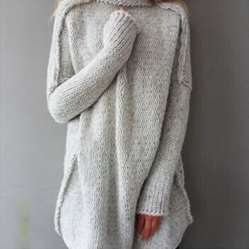 Large size female sweater sweater