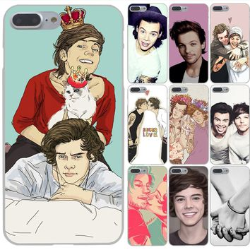 Lavaza Styles one direction harry styles Hard Phone Case for Apple iPhone X 10 8 7 6 6s Plus 5 5S SE 5C 4 4S Cover Coque Shell
