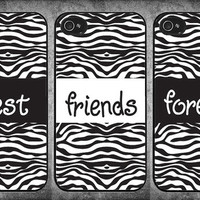 Three Best Friends Forever iPhone 4 / 4s cases, iPhone 4 / 4s covers