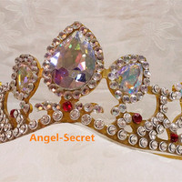 CR11 Crown of Rapunzel gold version from angel-secret