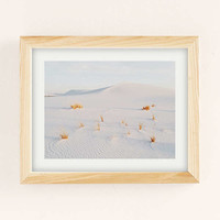 Kevin Russ White Sands Art Print | Urban Outfitters