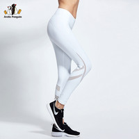 Yoga Leggings for Women Sports Tights Running Training Pants Super Stretch Mesh Legging Gym Clothes Workout Trousers CK7020