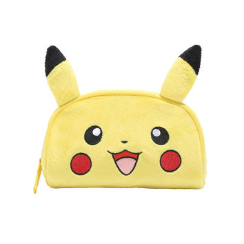 Pokemon Pikachu Plush Cosmetic Bag