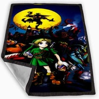 The Legends of Zelda Majora Mask Blanket for Kids Blanket, Fleece Blanket Cute and Awesome Blanket for your bedding, Blanket fleece **