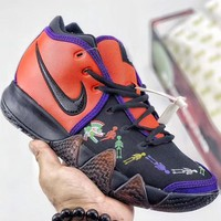 Trendsetter Nike Kyrie 4 Day of the Dead Men Fashion Casual Sneakers Sport Shoes
