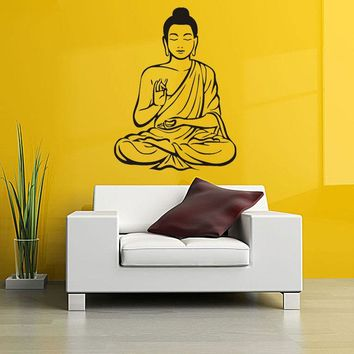 Wall Decor Indian Religion Buddha Statue