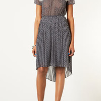 Lace Panel Pleat Dress - Sale  - Sale & Offers