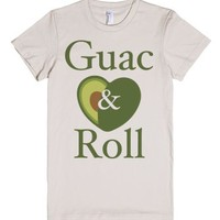 Guac and Roll-Female Natural T-Shirt