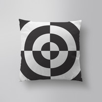 Throw Pillows for Couches / This is not a Circle 2 by Alddo Fernandez