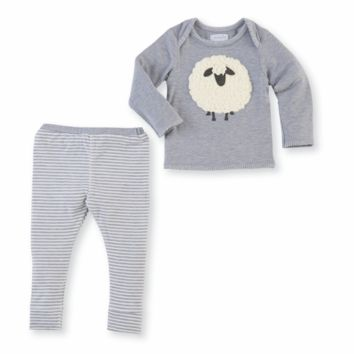 MUD PIE SHEEP TWO-PIECE SET