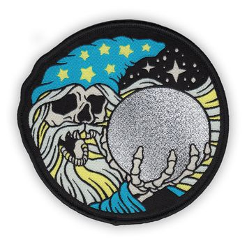 WIZARD Iron-On Patch