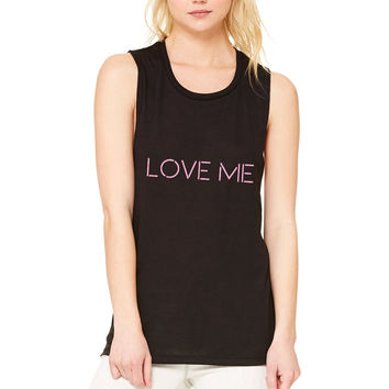 "The 1975 ""Love Me"" Muscle Tee"