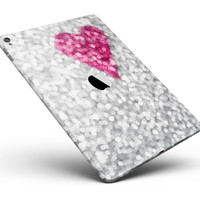 """Unfocused Heart Glimmer Full Body Skin for the iPad Pro (12.9"""" or 9.7"""" available)"""