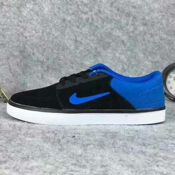 NIKE SBRABONALR Trending Fashion shoes Casual Shoes Sneakers Sapphire blue hook