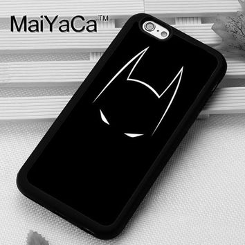 Batman Dark Knight gift Christmas MaiYaCa Dc Comics Batman Printed Soft TPU Mobile Phone Cases OEM For iPhone 6 6S Plus 7 8 Plus X 5 5S SE 4S Back Shell Cover AT_71_6