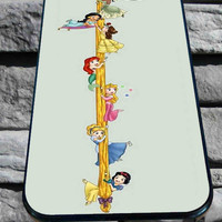 cute Disney princes for iPhone 4/4s, iPhone 5/5S/5C/6, Samsung S3/S4/S5 Unique Case *76*