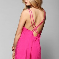 Silence + Noise Strappy-Back Romper - Urban Outfitters