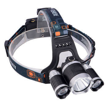 Portable Headlamp 3 LED (Bright Hiking Camping Tent Lantern)