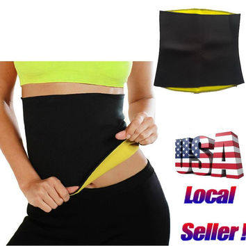 Super Stretch Neoprene Shaper Sauna Slimming Belts Weight Loss Fit Hot Sweat Shaper Body Fat Burne Girdle Shapewear