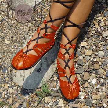 Beautiful handmade Super Sexy leather sandals