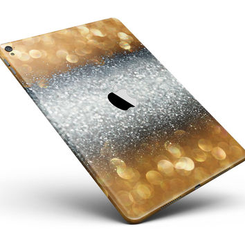 "Gold and Silver Unfocused Orbs of Glowing Light Full Body Skin for the iPad Pro (12.9"" or 9.7"" available)"