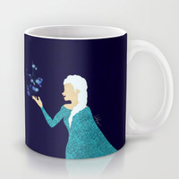 Frozen // Let It Go - Elsa the Snow Queen Mug by Lukas Emory