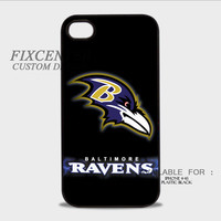 Baltimore Ravens Plastic Case for iPhone, iPod, Samsung Note, Samsung Galaxy, HTC, BB Z10 by FixCenters