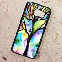 Hue Tree Painting and Many Branch - Samsung Galaxy S7 S6 S5 Note 7 Cases & Covers