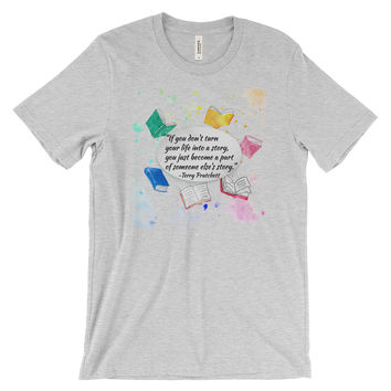Make Your Own Story Terry Pratchett Women's short sleeve t-shirt