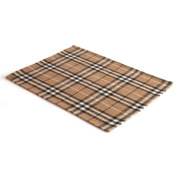 Lodge Brown Plaid Placemats (Set of 4)