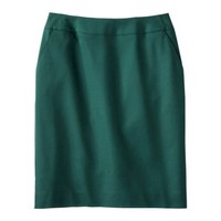 Merona® Women's Doubleweave Pencil Skirt - Solids