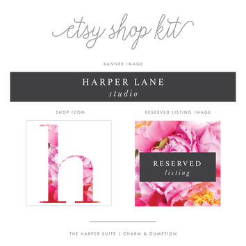 Etsy Shop Kit | Harper