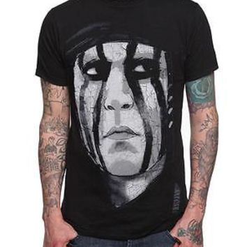 Licensed cool NEW Disney THE LONE RANGER Movie TONTO FACE Men's Black TEE SHIRT Hot Topic S-2X
