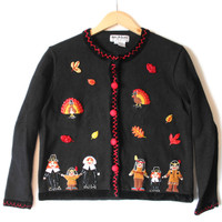"""""""Twerky Turkey"""" Tacky Ugly Thanksgiving Sweater - The Ugly Sweater Shop"""