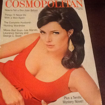 Cosmopolitan Magazine September 1966 Cover Jennifer O'Neill