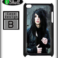 BLACK VEIL BRIDES ANDY BIERSACK IPOD TOUCH 4 4G 4TH GEN IPHONE HARD CASE COVER