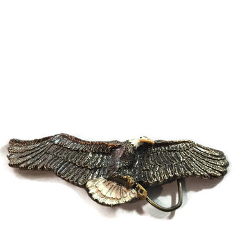 Bald Eagle Belt Buckle Limited Edition from the Great American Chicago Buckle Co