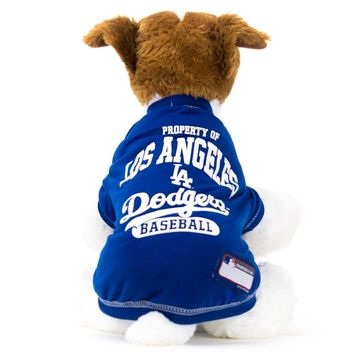 Los Angeles Dodgers Dog Shirt MLB Baseball Officially Licensed Pet Product