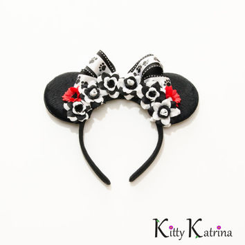 101 Dalmatians Mouse Ears Headband, 101 Dalmatians Party, 101 Dalmatians Ears, Disney Birthday Ears, Disney Bound, Disney Headband