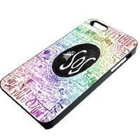 5 Second of Summer 5sos Quotes Case for Iphone 4 / 4s