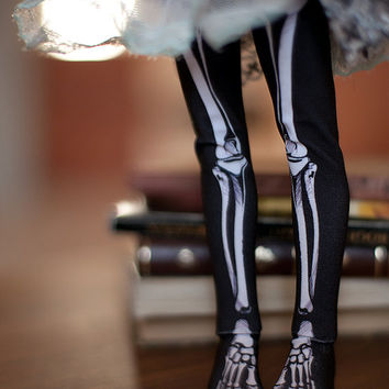 skeleton bones bjd stockings  MSD / SD / Blythe / tiny