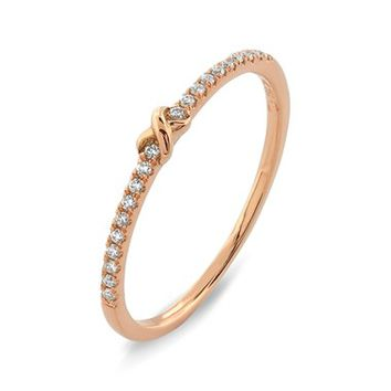 Bony Levy Stackable Knot Pavé Diamond Ring (Nordstrom Exclusive)   Nordstrom