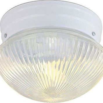 "Nuvo 76-251 - 8"" Close-To-Ceiling Flush Mount Ceiling Light"