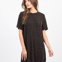 Starry Night T-Shirt Dress